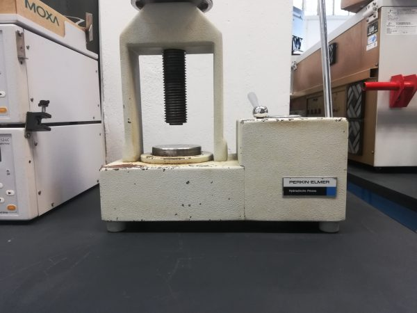 Perkin Elmer Hydraulische Presse - Hydraulic Press FT-IR pellet press